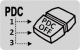 OPTION: additionally variants of stitching off PDC signalling using separatelly PDC-OFF modules